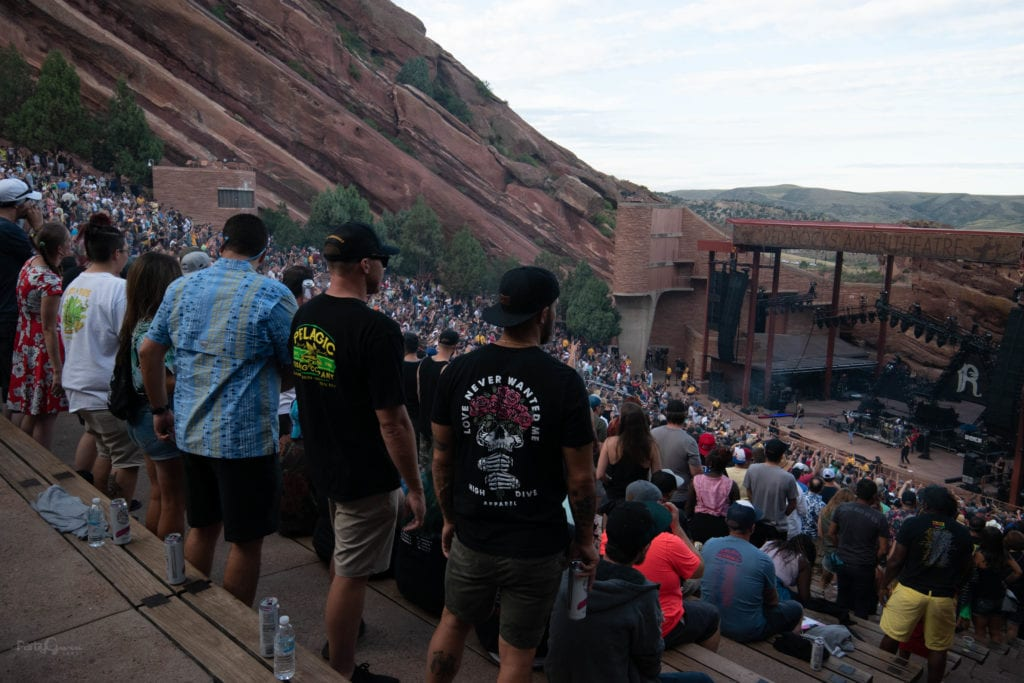 Rebelution Red Rocks
