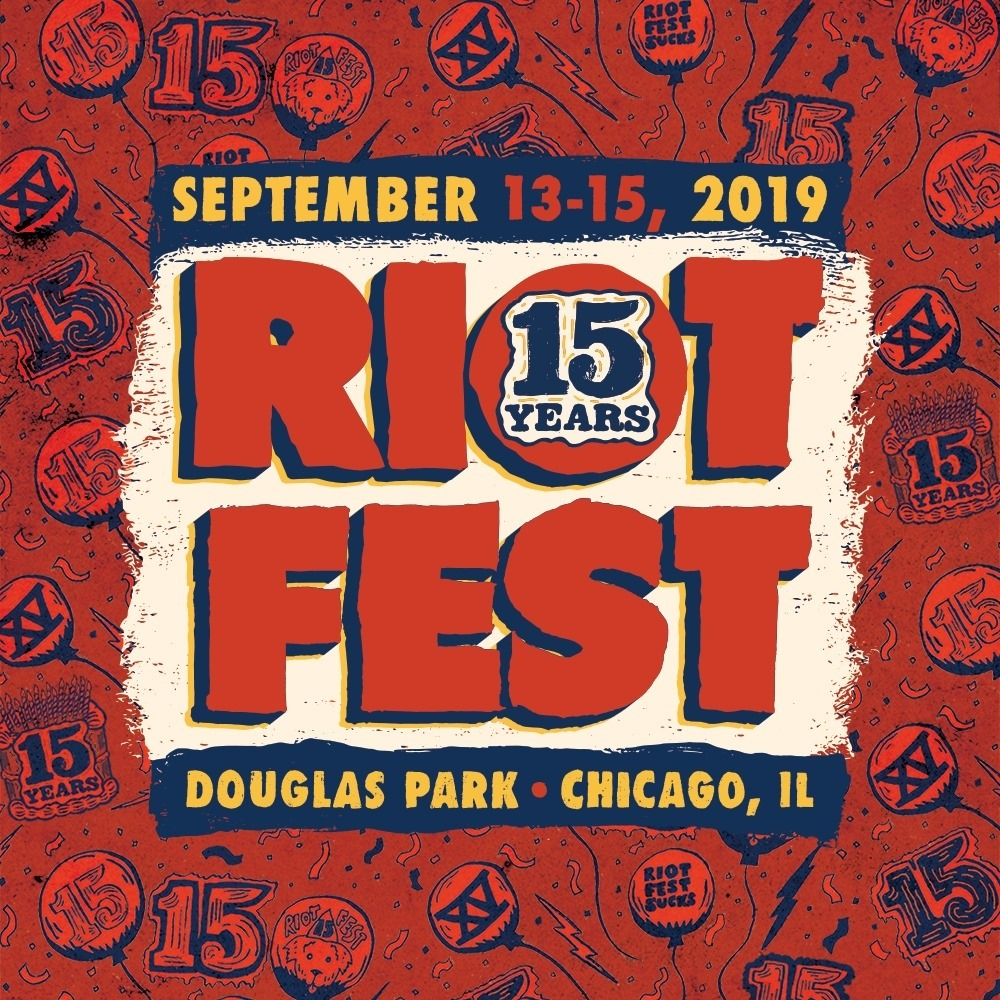 Riot Fest. Perfect Festival to close out Summer.