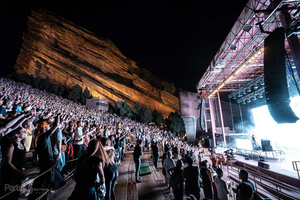 Group Therapy at Red Rocks