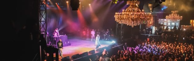 Three 6 Mafia Tears the Club up at the Fillmore